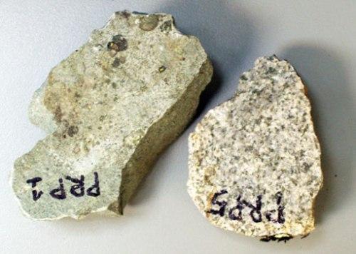 Granodiorita y granitos de Panticosa.