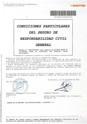 Seguros responsabilidad civil transporte teoria de for Seguro responsabilidad civil autonomos obligatorio