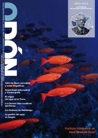 Portada del nº 4 de la revista Odón, en la que colabora ZCO.